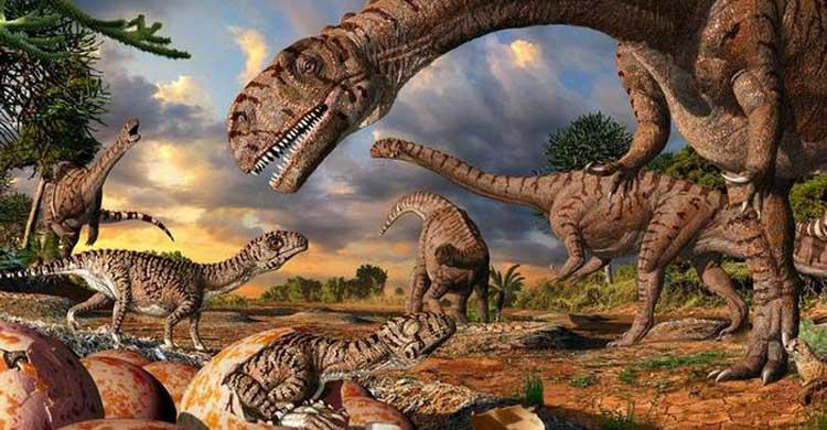 ডাইনোসর যুগের বিশাল উড়ন্ত প্রাণী